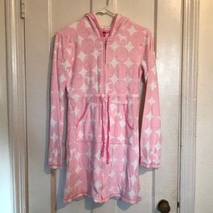 Victoria's Secret Pink Robe Swimsuit Coverup sz S